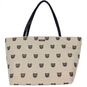 Kate spade Owl print canvas tote purse